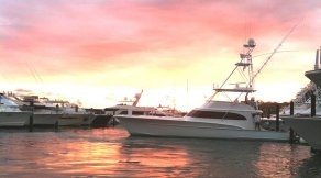 Sport Fishing Sunset, Los Suenos, Costa Rica