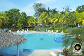 Pool area, Morgans Cove Resort