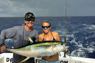 yellowfin tuna fishing los suenos costa rica