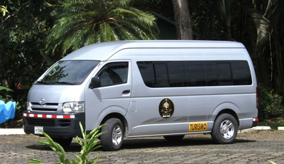 Airport shuttle Jaco to San Jose in comfort